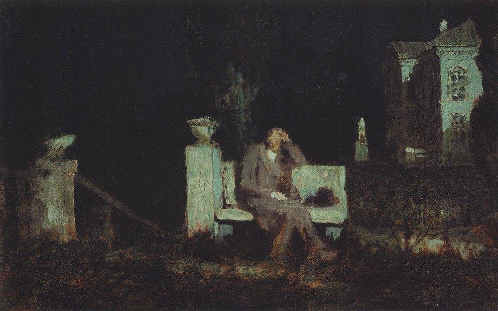 Night meditation and prayer