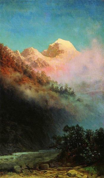 Sunrise, c.1895 - Arkhip Kuindzhi