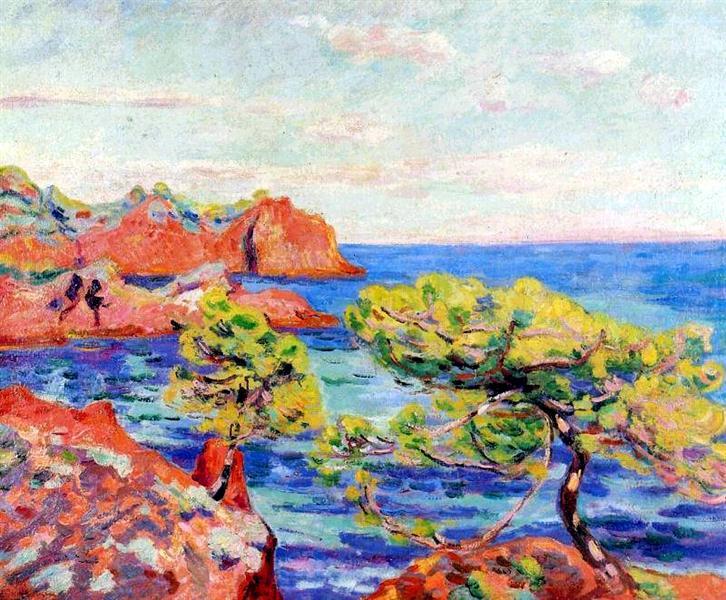 Le Trayas, 1907 - Armand Guillaumin