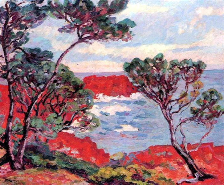 Les rochers rouges, 1894 - Armand Guillaumin