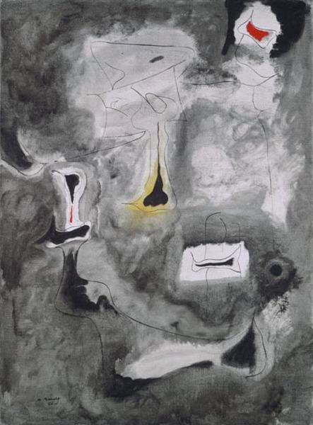 Charred Beloved II, 1946 - Arshile Gorky