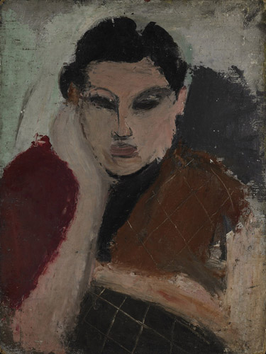 Portrait of a Woman, c.1928 - Arshile Gorky