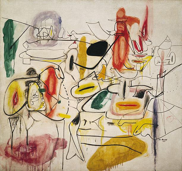 Untitled, 1944 - Arshile Gorky