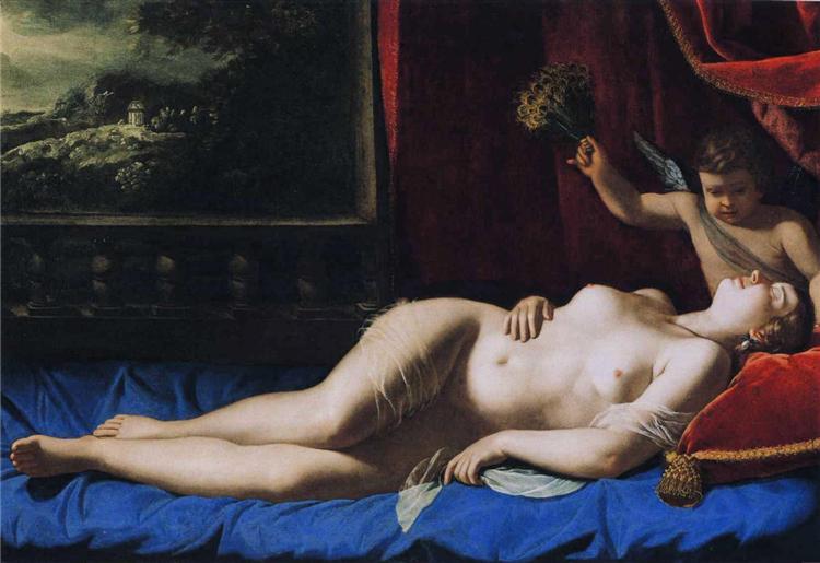 Sleeping Venus - Artemisia Gentileschi
