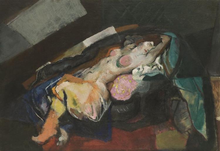 Reclining Nude, 1935 - Arthur Beecher Carles