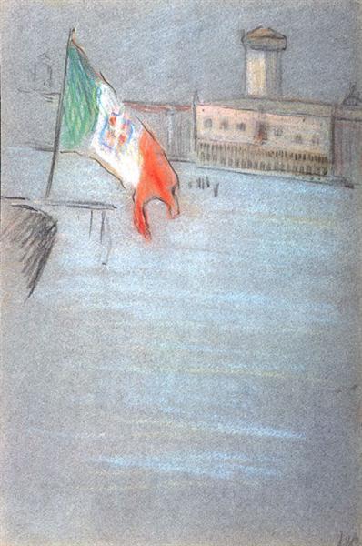 Venetian Scene, 1905 - Arthur Beecher Carles