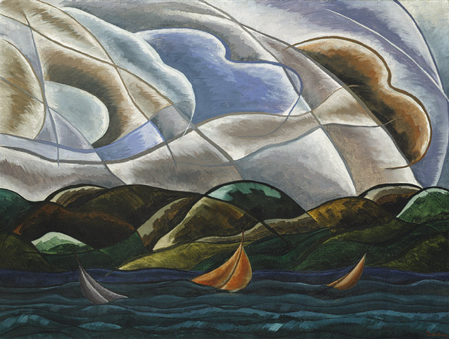 Clouds and Water, 1930 - Arthur Dove