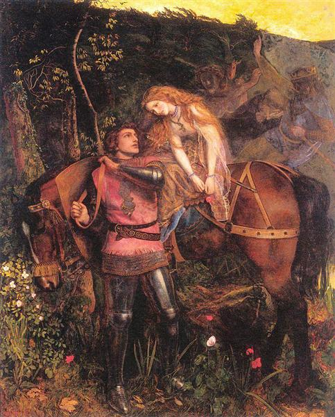 The Beautiful Lady Without Pity, 1863 - Arthur Hughes