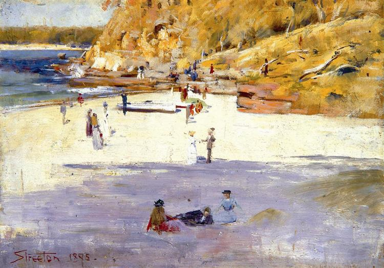 Manly Beach, 1895 - Arthur Streeton
