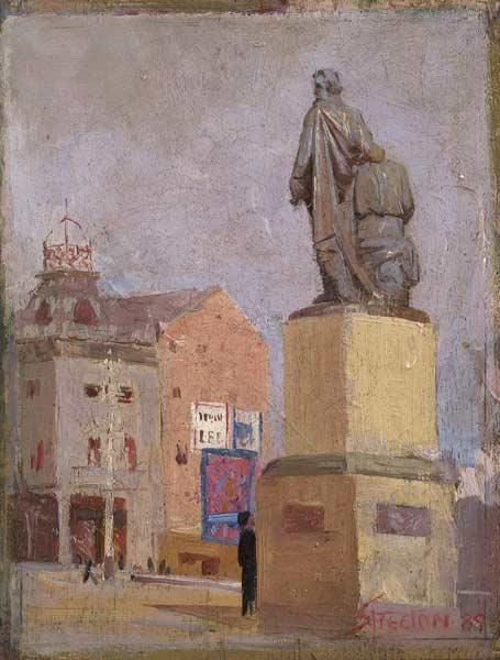 Princess & Burke & Wills - Arthur Streeton