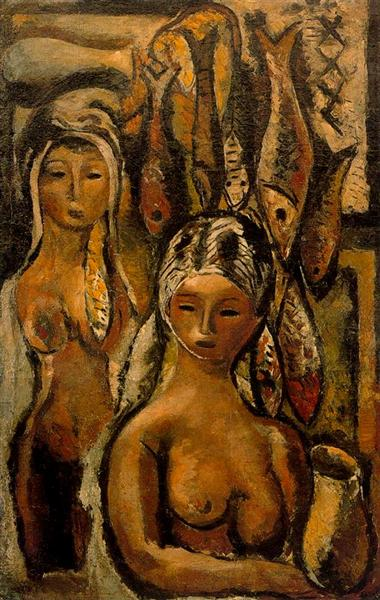 Women and Fish, 1933 - Arturo Souto