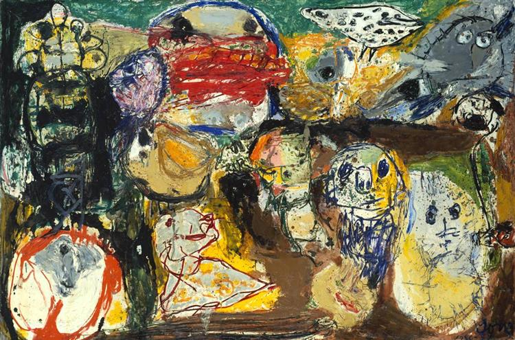 Letter to My Son, 1956 - 1957 - Asger Jorn