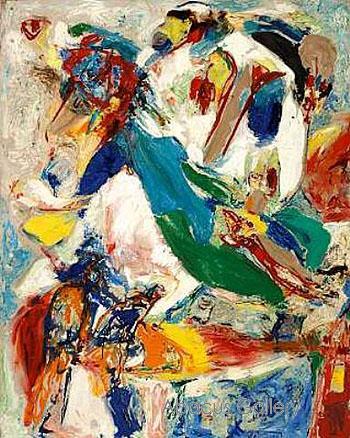 Tristesse Blanche, 1958 - Asger Jorn