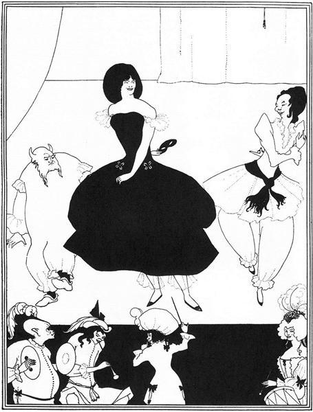 Ballet of Marionettes II - Aubrey Beardsley