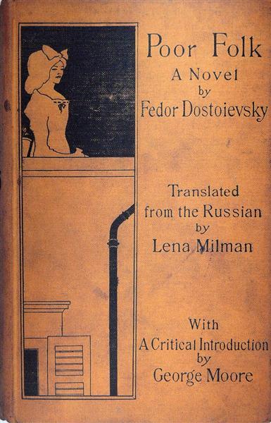 Poor Folk by Dostoievsky, 1894 - Aubrey Beardsley