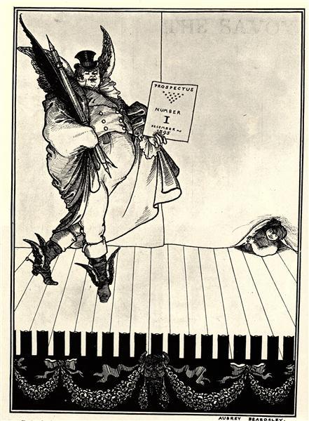 Prospectus No. 1, 1895 - Aubrey Beardsley