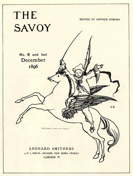 Puck on Pegasus, 1894 - Aubrey Beardsley