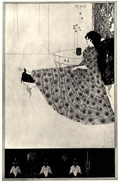 Rejane, 1894 - Aubrey Beardsley