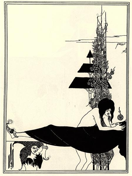 The Platonic Lament, 1894 - Aubrey Beardsley