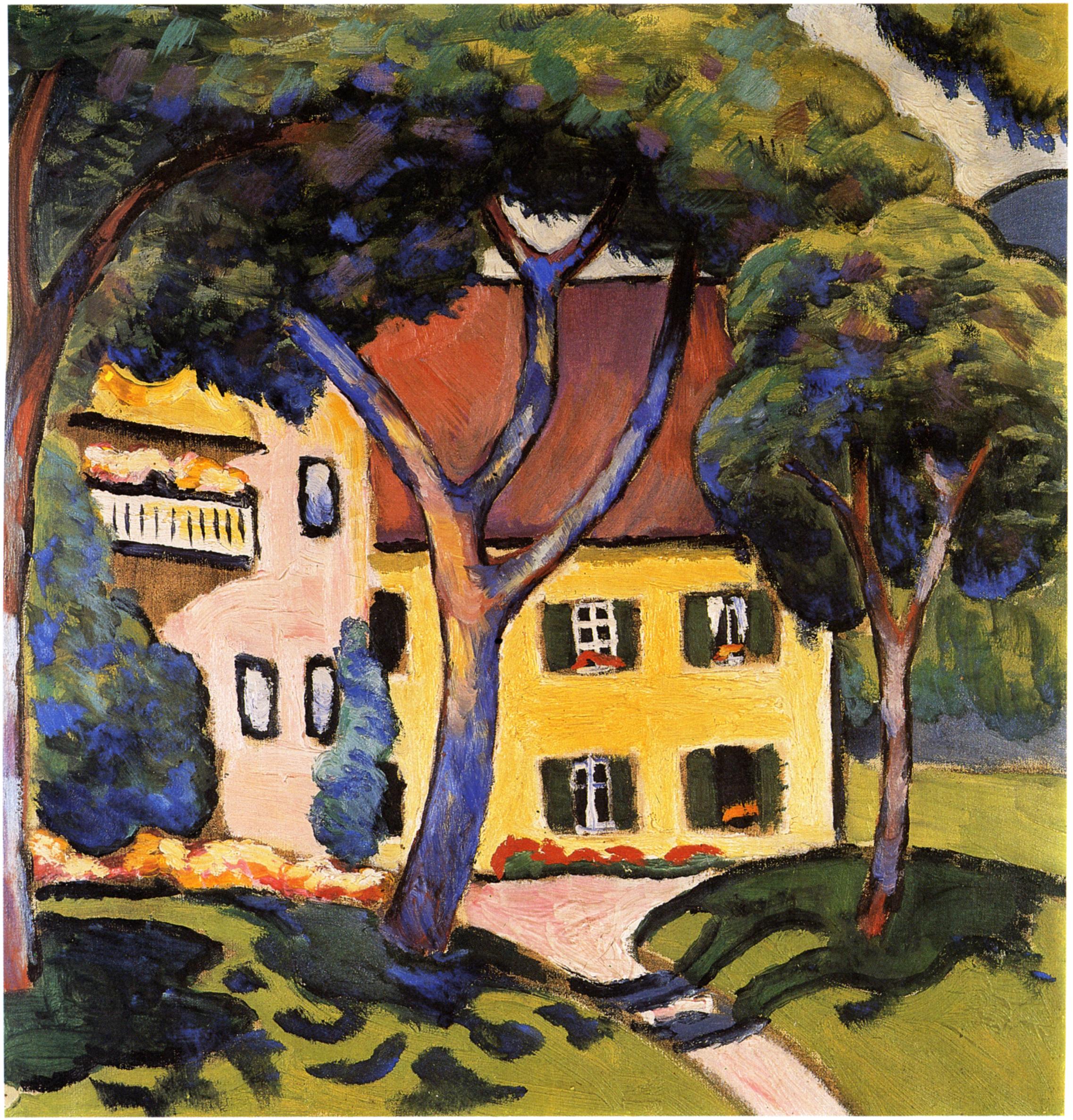 House Landscape Images: House In A Landscape