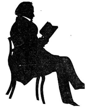 Portrait of Theophilus Parsons - Auguste Edouart