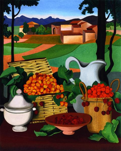 Cherries - Auguste Herbin