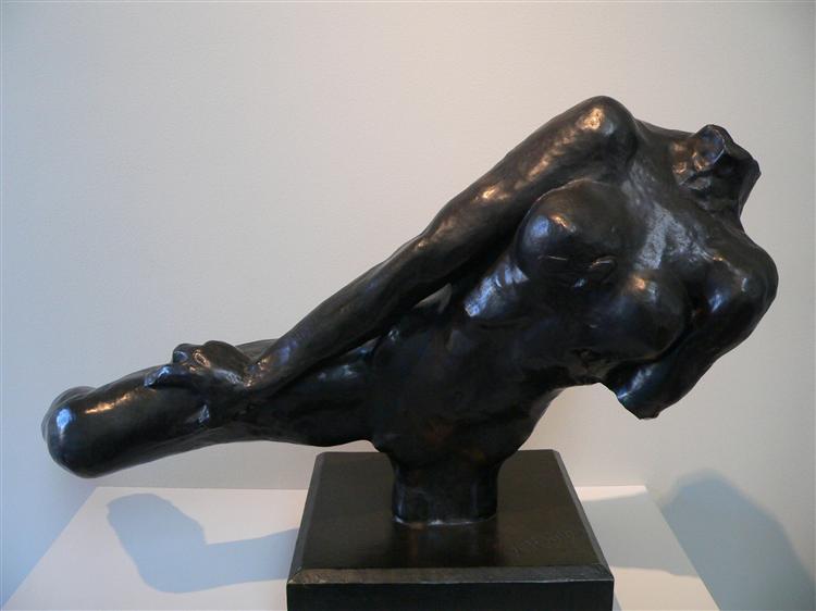 Flying Figure, 1891 - Auguste Rodin
