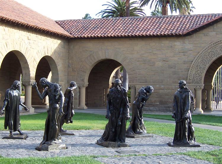 The Burghers of Calais - Rodin Auguste