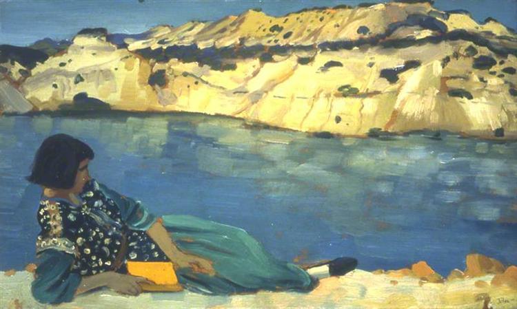 The Blue Pool, 1911 - Augustus John