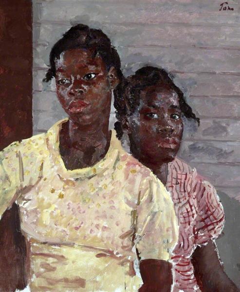 The Two Jamaican Girls, 1937 - Огастес Эдвін Джон