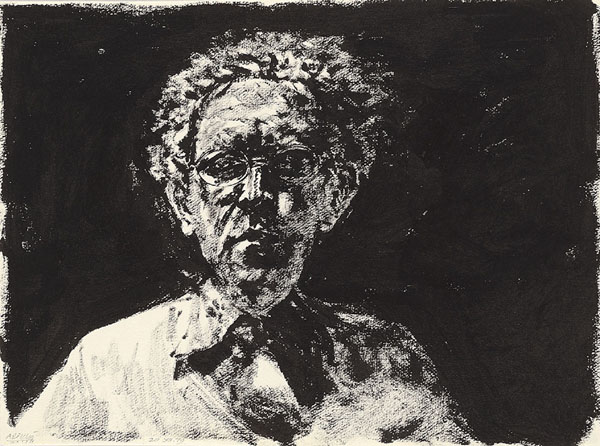 Self-Portrait, 1979 - Avigdor Arikha