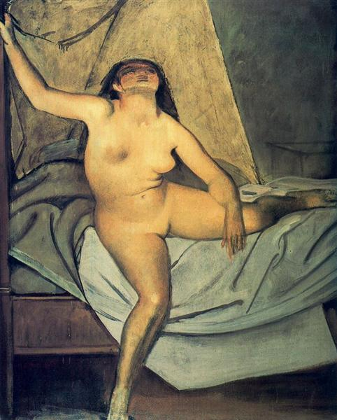 Getting Up, 1955 - Balthus