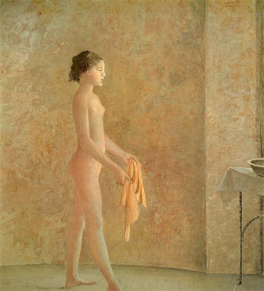 Nude in Profile, c.1975 - Balthus