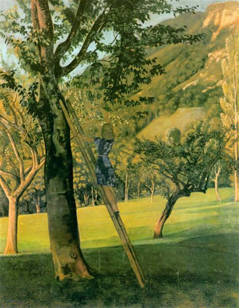 The Cherry Tree, c.1940 - Balthus