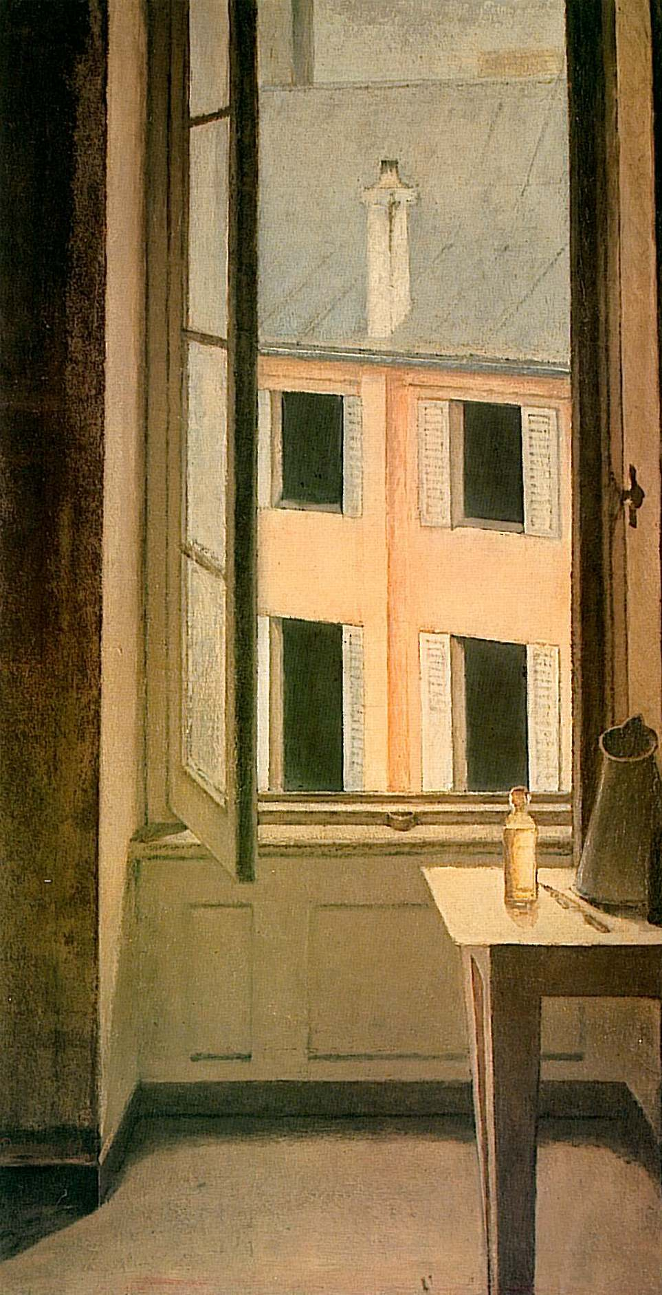 Window cour de rohan balthus for Fenetre in english