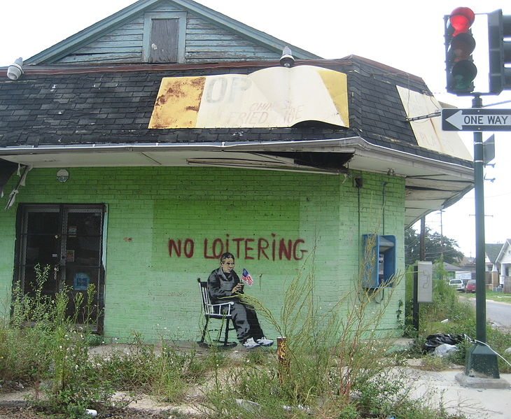 No Loitering, 2008 - Banksy
