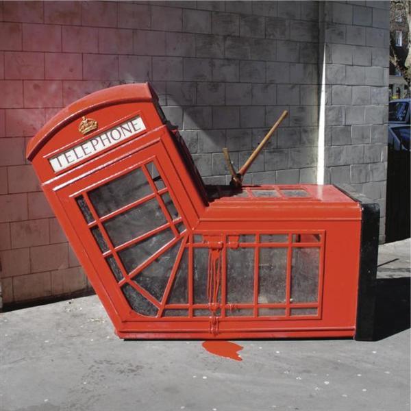 Vandalised Phone Box, 2005 - Banksy