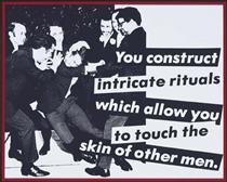 Untitled (You Construct Intricate Rituals) - Barbara Kruger