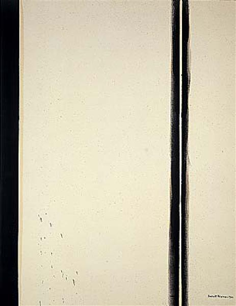 The Station of the Cross - Fourth Station, 1967 - Barnett Newman