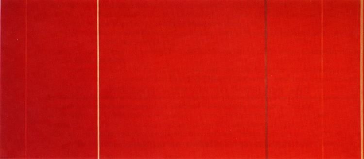 Vir heroicus sublimis, 1950 - 1951 - Barnett Newman