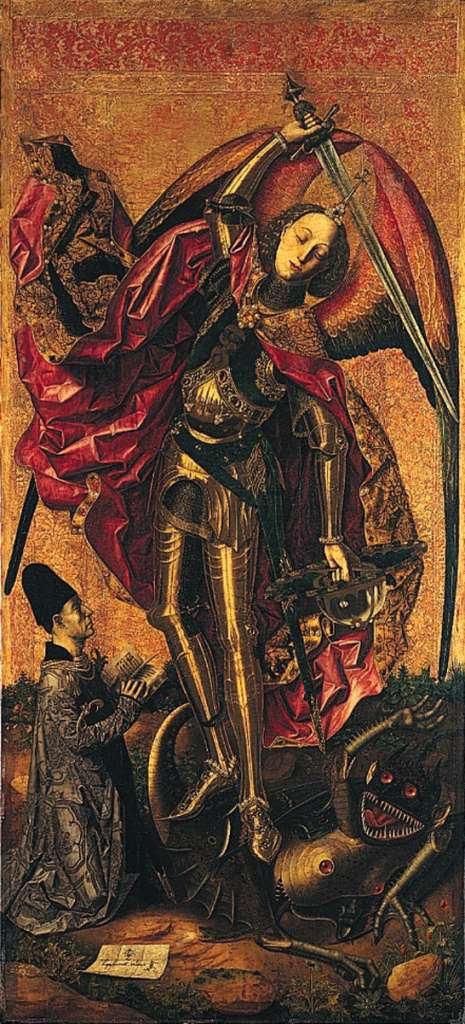 Saint Michael Triumphs over the Devil, 1468 - Bartolome ...