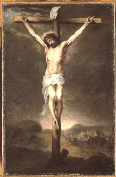Christ on the Cross, 1665 - Bartolome Esteban Murillo