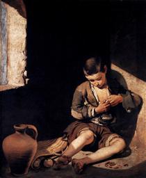Le Jeune Mendiant - Bartolomé Esteban Murillo