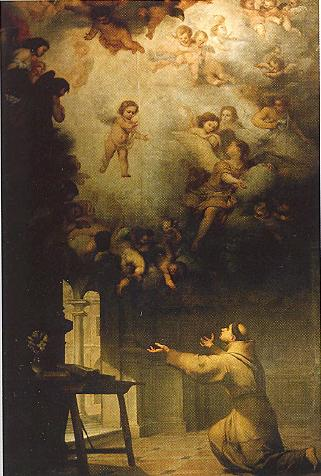 Oil Painting Of St Anthony Reproduction
