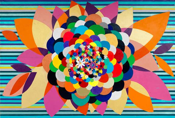 Spring Love, 2010 - Beatriz Milhazes