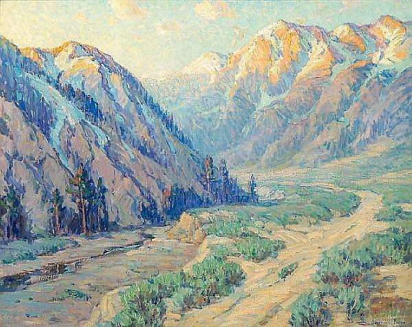 San Gabriel Canyon - Бенджамін Браун