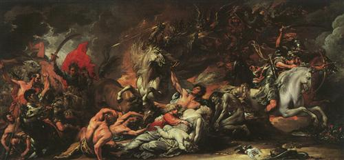 Death on the Pale Horse - Benjamin West
