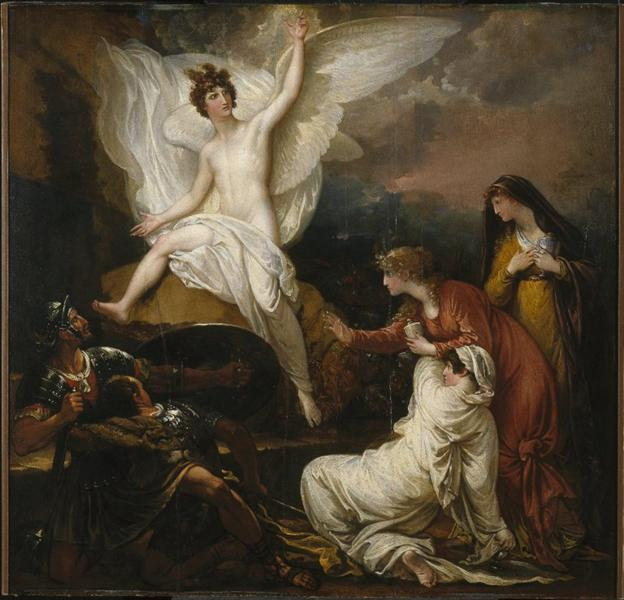 The Angel of the Lord Announcing the Resurrection, 1805 - Benjamin West