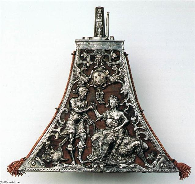 Gunpowder Case, c.1570 - Benvenuto Cellini