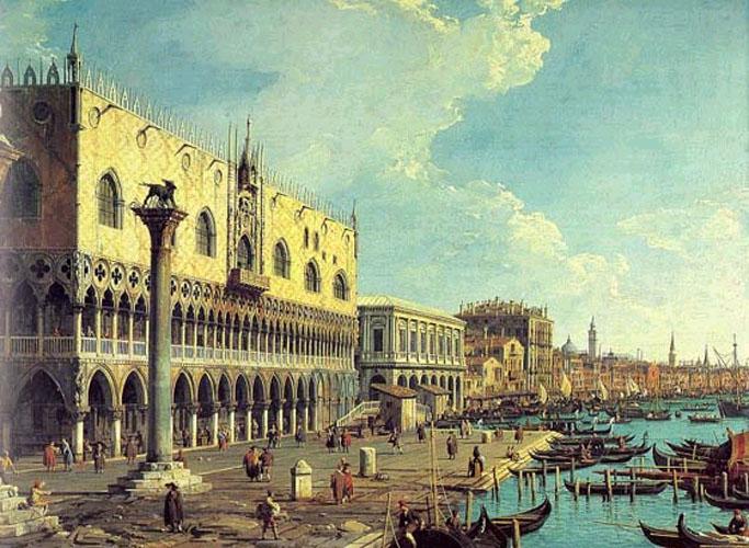 Venice Veduta - Бернардо Беллотто